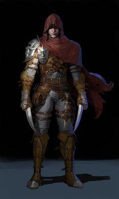 DnD male rogue - inspirational - Imgur