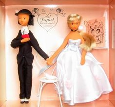 muñecos los amantes de Raymond Peynet