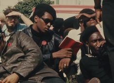 """A still from the short documentary, """"Black Panthers,""""1968.  Photo credit: Agnès Varda"""