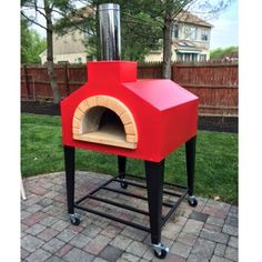 Andiamo Wood Fire Fully Assembled Pizza Oven by Forno Bravo