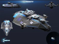 Still working hard on complementary DLCs in #fivenations. Check out the Trinity Class cruiser that will play a big part in the story in the first official Campaign. It really does look a difficult target for any hostile groups. #gamedev #indiedev #indiegame #indiegames #artwork #conceptart #html5games #2d #3d