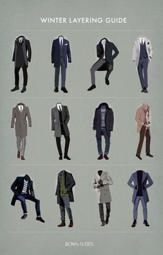 Menswear Winter Layering Tips