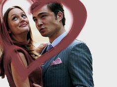 Blair and Chuck FOREVER. FOREVER.