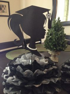 Graduation Decoration Centerpiece in various by NowThatsAGoodIdea, $13.50