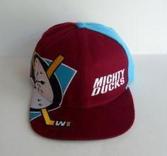 8a00b6bcc6591 Retro Vintage Anaheim Mighty Ducks Snapback Twins Enterprises Hat NHL