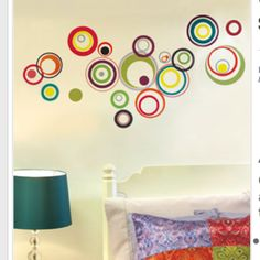 Playroom wall decals
