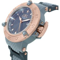 Invicta Men's Subaqua INV-10118 Grey Rubber Swiss Quartz Watch