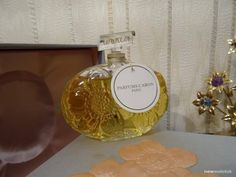 Or et Noir Caron 90ml. Perfume Vintage Baccarat Rare by MyScent on Etsy