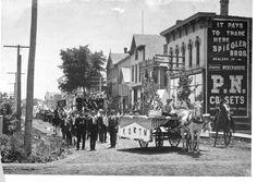 Ellinwood Street, early 1900s