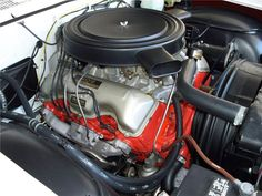 CHEVROLET 409: '62 Chevrolet Impala convertible equipped with the 409/409hp block with dual-carburetor and the SS option