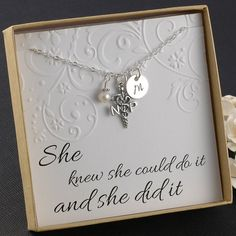 NP Nurse Practitioner Necklace  Sterling by DivineJewelrybyMary