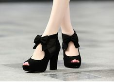 Beautiful And Lovely Black High Heels