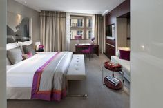 Mandarin Oriental, Paris is situated on one of the most fashionable streets in the world, Rue Saint-Honore, surrounded by haute couture and steps from the Louvre. Mandarin Oriental, Paris Hotels, Paris Accommodation, Superior Room, Hotel Interiors, Hospitality Design, Interior Design, Furniture, Oriental Hotel