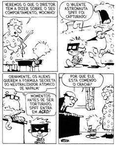 Calvin e Haroldo: Tirinha nº 12
