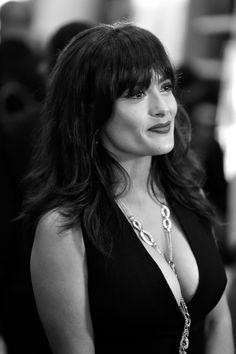 Salma Hayek massive cleavage