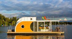 Für Freizeitkapitäne: Hausboote im Angebot! | Tiny Houses