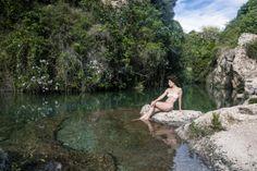 #Paisaje #shoot #modelo #naturaleza #paraiso #rio #river #green #bikini #recogido