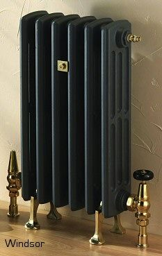 hall way radiator - Cast Iron Radiators Black Radiators, Cast Iron Radiators, Painting Radiators, Victorian Radiators, Column Radiators, Victorian Living Room, Modern Victorian, Victorian Decor, Victorian
