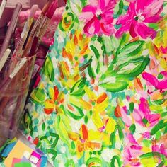 Spotted in the Lilly Pulitzer Print Studio