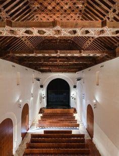 Rehabilitación del Teatro Oscense y Claustro Anexo, Huéscar, España - SSW Arquitectos + Julia González - foto: Fernando Alda