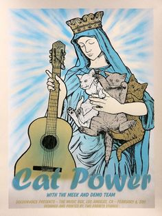 GigPosters.com - Cat Power - Meek, The - Demo Team