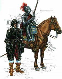 Engkish Civil War cuirassier
