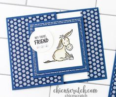 Fun Fold Cards, Folded Cards, Cute Cards, Gift Cards Money, Card Making Tips, Stamping Up Cards, Animal Cards, Funny Cards, Card Tags