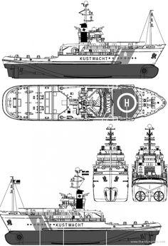 Корабль Kustwacht Waker (Coast Guard ETV) Netherlands - чертежи, габариты, рисунки | Скачать чертежи, схемы, рисунки, модели, техдокументацию | AllDrawings.ru Coast Guard Ships, Bmw E34, Tiger Tank, Tug Boats, Boat Plans, Model Ships, Paper Models, Rowing, Planer