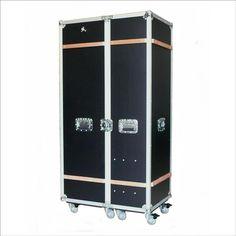 Wardrobe Case Black Großes Flightcase schwarz Garderoben-Case
