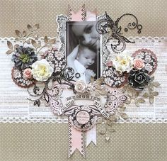 Layout: {I cherish memories with you} * Swirlydoos April Kit*