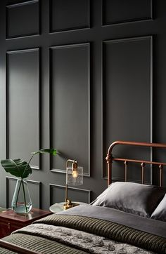 The 10 Grey Paint Colours Designers Always Use Grey, everyone's favourite warm neutral, is a go-to for cabinets, walls and more. Here's the top 10 grey paint colours that designers always use. Decor, Interior, Best Gray Paint, Bedroom Interior, Home Decor, House Interior, Bedroom Wall, Home Interior Design, Interior Design