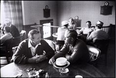Arnold Palmer and Jack Nicklaus sitting at a table at Laurel Valley Country Club during the 1965 PGA Championship in Ligonier, Pa. Golf Magazine, Classic Golf, Arnold Palmer, Jack Nicklaus, Facebook Photos, Sports Photos, Sports Illustrated, Cover Photos, History