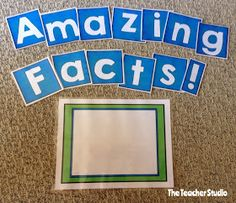 Fourth Grade Studio: Learning, Thinking, Creating: Monday Made It: Getting Bulletin Boards Started!