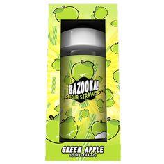 Green Apple Sour Straws - Bazooka Sour Straws E Liquid #vape #vaping #eliquid