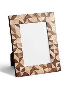 Conran Inlay Photo Frame 13 x 18cm (5 x 7inch)