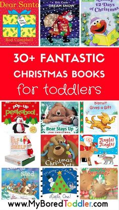 The best toddler Christmas books. If you are looking for toddler books for Christmas or toddler books about Christmas then we have put together some of the best ones.