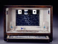 Joseph Cornell Untitled (Celestial Navigation) 1956-58. Box construction 30.8 x 43.2 x 9.2 cm.
