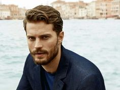 Jaime Dornan and the waves.