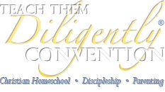 Teach Them Diligently Convention. - wish it was here.  FINALLY, a homeschool convention that allows children to be with their parents instead of confined to a stroller or daycare.