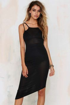 Great Expectations Asymmetric Dress | Shop Clothes at Nasty Gal!