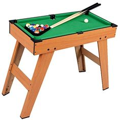 Guaranteed4Less INDOOR KIDS PLAY POOL BILLIARDS TABLE GAMING GAMES KIDS POOL  Or BILLIARD TABLE: 2