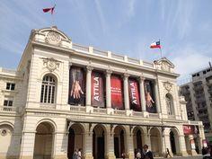 Teatro Municipal de Santiago en Santiago de Chile, Metropolitana de Santiago de Chile