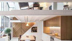 Loft Paris 20 : 83 m2 ouverts sur l'extérieur - Côté Maison