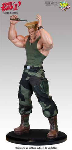 Sideshow Collectibles - Guile Mixed Media Statue