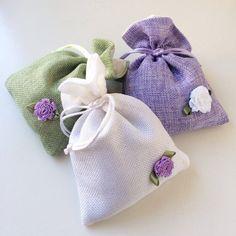 Lavender Sachet  Drawer Sachet  Scented Linen by BalletShoppe