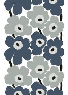 Unikko fabric | Cotton Fabrics | Marimekko