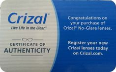 Crizal® Lenses Review | Macaroni Kid