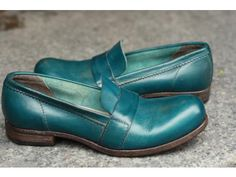 """Moma """"loafer"""" (dark turquoise)"""