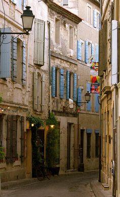 Narrow Street, Provence, France