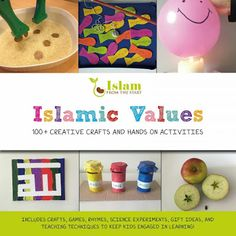 New Book Out Now! Islamic Values 100+ Creative Crafts and Hands On Activities